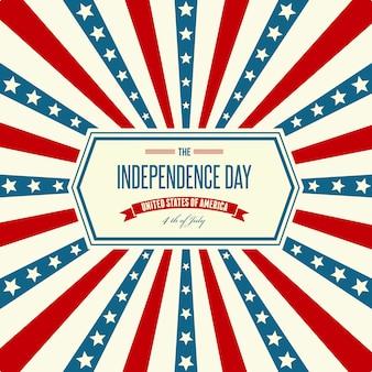 アメリカ独立記念日愛国的な背景