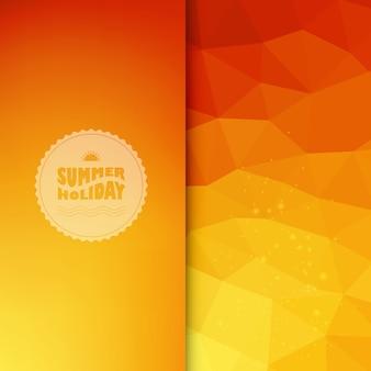 Цветной фон с летним текстом