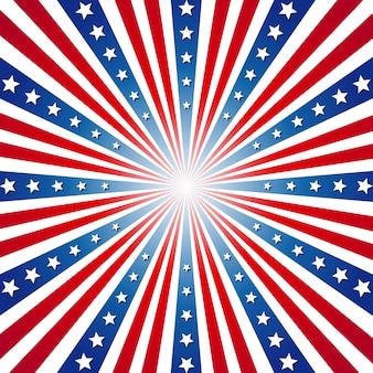 Американский день независимости патриотический фон