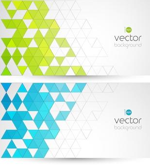 Абстрактный геометрический фон с треугольниками.