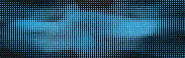 Абстрактный фон полутоновых точек