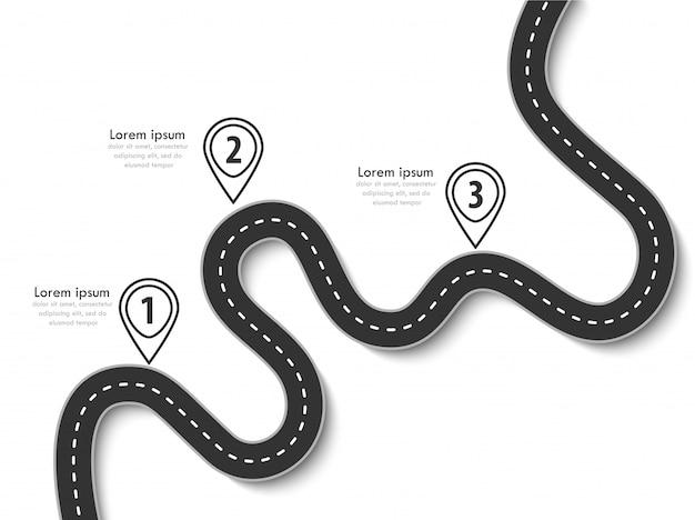 フラグとあなたのデータのための場所を持つビジネスと旅インフォグラフィックテンプレート