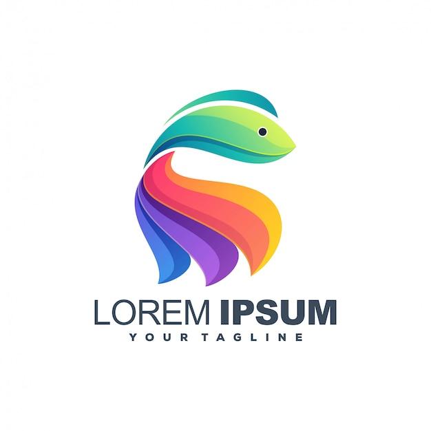Дизайн цвета рыбы