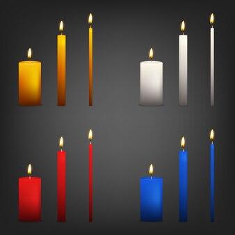 Набор свечей.