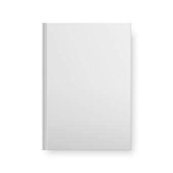 Реалистичные книги заглушки, изолированные на белом. ,
