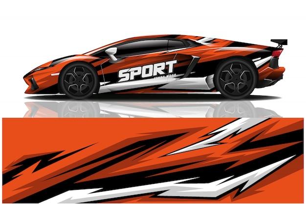 Иллюстрация спортивной машины