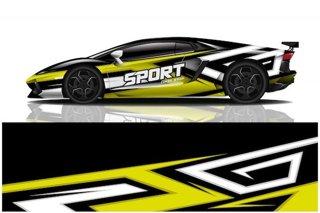 Дизайн спортивной машины