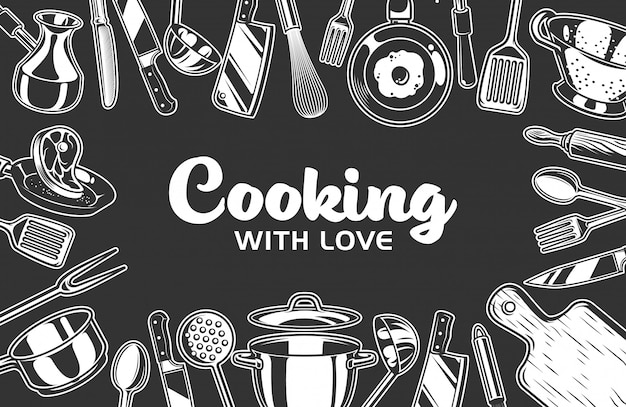 Рамка для кухни