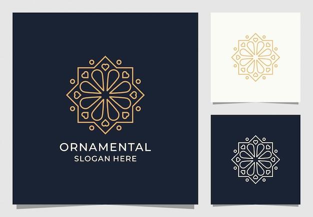 Дизайн логотипа орнамент