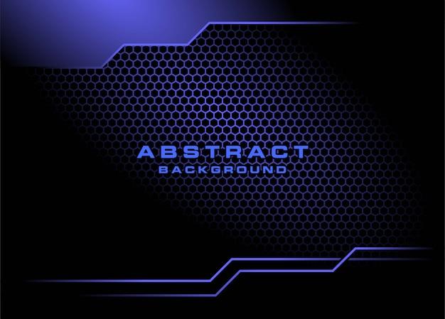 Абстрактный фон с гексагональной