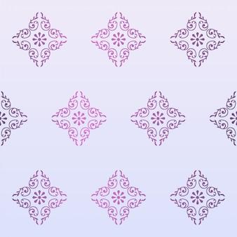 花の装飾のパターン