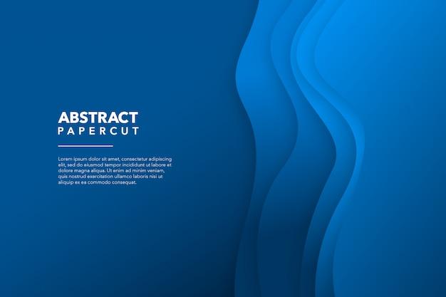 Современная абстрактная бумага вырезать фон