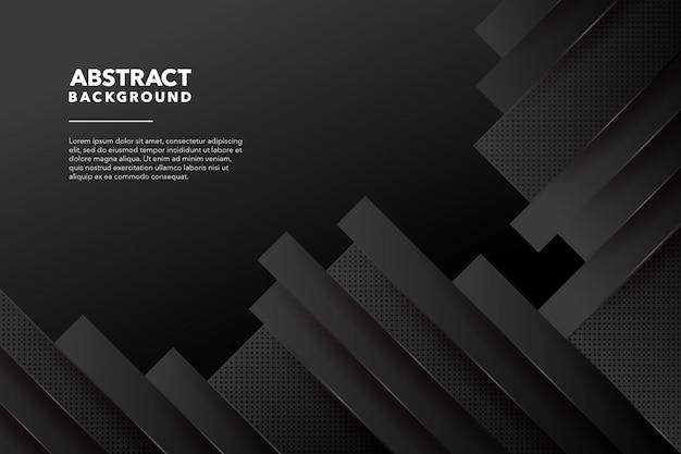Черный современный абстрактный фон