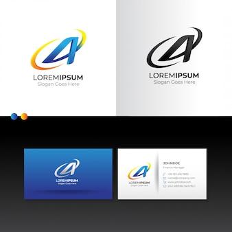 Логотип заглавная буква а