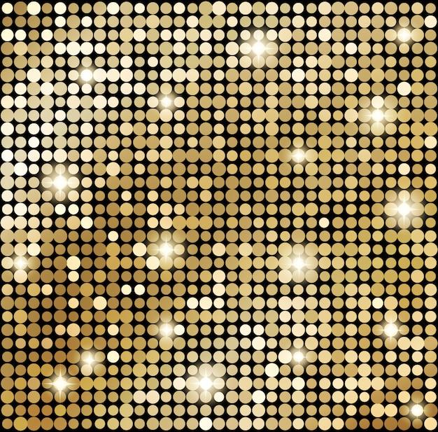 抽象的なゴールドモザイクの背景。