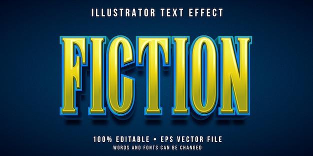Редактируемый текстовый эффект - стиль вымышленного названия