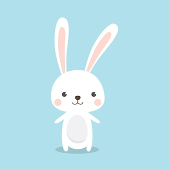 Счастливый пасхальный заяц
