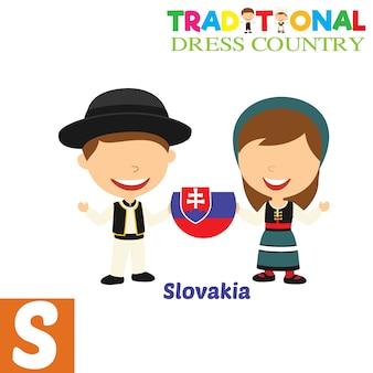 Традиционная страна платья