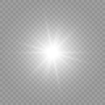 イラストは光の形で描かれています