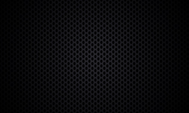 黒の背景。黒のテクスチャの金属鋼の背景。ダークカーボンファイバーの質感。