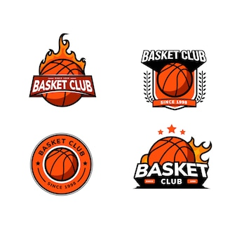 Значок с логотипом корзины