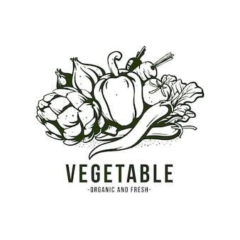 Овощная иллюстрация