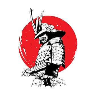 Воина-самурая