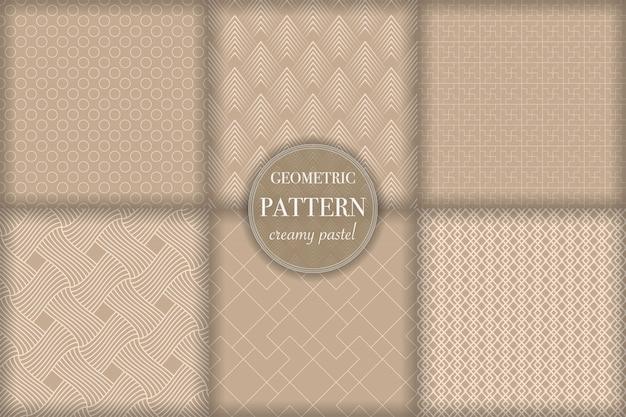 抽象的な幾何学的な線パターンの背景を設定します