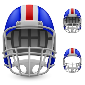 アメリカンフットボールのヘルメット