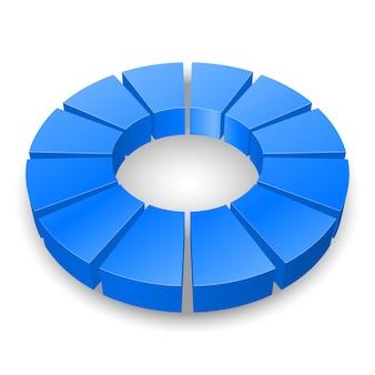 円形の図。