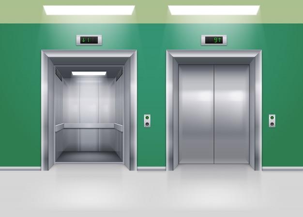 Двери лифта