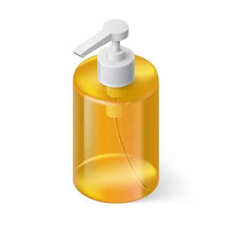 Жидкое мыло изометрии