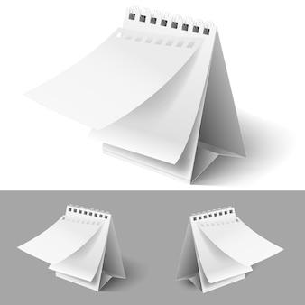 空白のフリップカレンダー