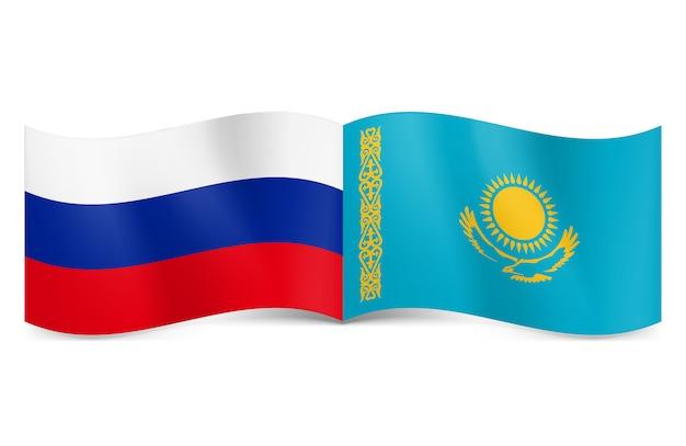 ロシアとカザフスタンの連合。