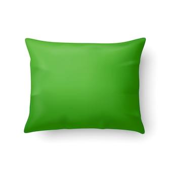 現実的な緑の枕