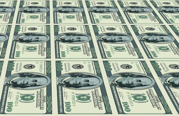 Фон долларов