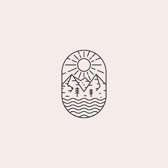 Урожай горный логотип
