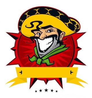 メキシコ料理店のロゴ。