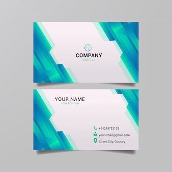 Геометрия абстрактный дизайн для карточного бизнеса.