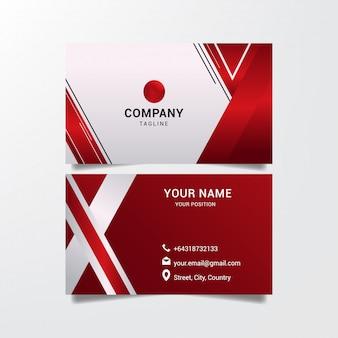 カードビジネスの幾何学的な抽象的なデザイン。