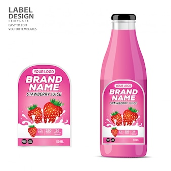 Дизайн упаковки для бутылок