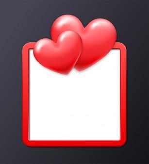 Рамка на день св. валентина