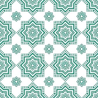 アラビアの装飾的なシームレスパターン