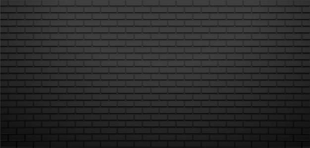 黒レンガの山のイラストと抽象的な背景の壁。