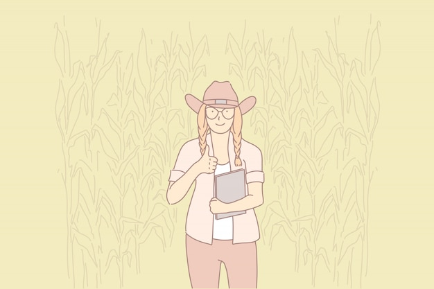 Сельская жизнь, защита окружающей среды, концепция экологически чистого образа жизни