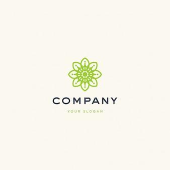 Иллюстрация логотипа природы