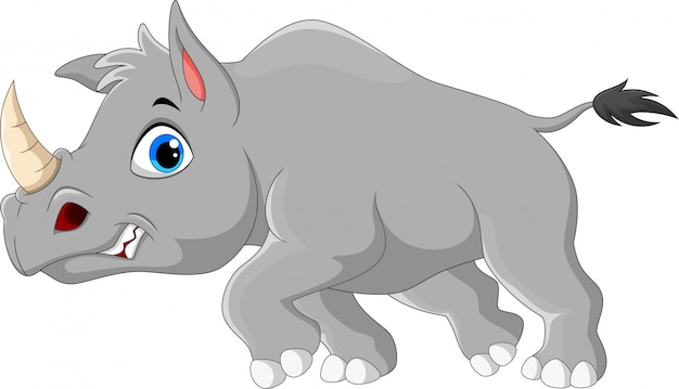 Мультфильм злой носорог