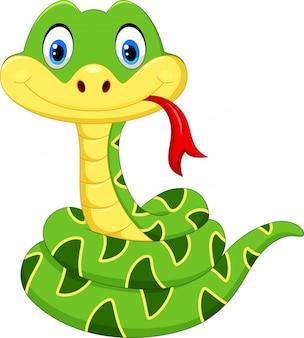 漫画赤ちゃん緑のヘビ