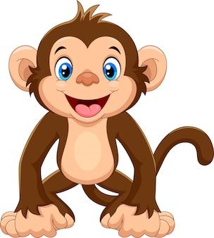 かわいい猿の漫画