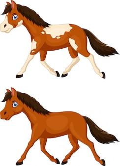 かわいい馬漫画